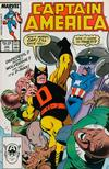 Cover for Captain America (Marvel, 1968 series) #328 [Newsstand Edition]