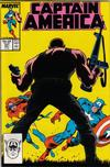 Cover for Captain America (Marvel, 1968 series) #331 [Direct Edition]