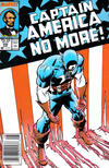 Cover Thumbnail for Captain America (1968 series) #332 [Newsstand Edition]