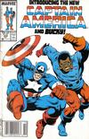 Cover Thumbnail for Captain America (1968 series) #334 [Newsstand Edition]