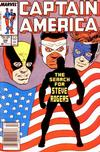 Cover Thumbnail for Captain America (1968 series) #336 [Newsstand Edition]