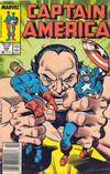 Cover for Captain America (Marvel, 1968 series) #338 [Newsstand]