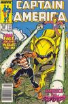 Cover Thumbnail for Captain America (1968 series) #339 [Newsstand Edition]
