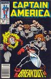 Cover for Captain America (Marvel, 1968 series) #340 [Newsstand]