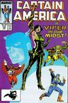 Cover for Captain America (Marvel, 1968 series) #342 [Direct]