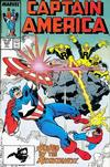 Cover for Captain America (Marvel, 1968 series) #343 [Direct]