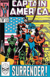 Cover Thumbnail for Captain America (1968 series) #345 [Direct]