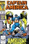 Cover for Captain America (Marvel, 1968 series) #346 [Direct]