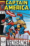 Cover for Captain America (Marvel, 1968 series) #347 [Direct]