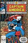 Cover for Captain America (Marvel, 1968 series) #358 [Direct Edition]