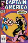 Cover for Captain America (Marvel, 1968 series) #363 [Direct Edition]