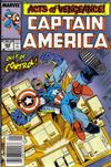 Cover for Captain America (Marvel, 1968 series) #366 [Newsstand Edition]