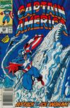 Cover Thumbnail for Captain America (1968 series) #384 [Newsstand Edition]