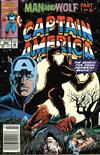 Cover Thumbnail for Captain America (1968 series) #402 [Newsstand]