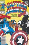 Cover Thumbnail for Captain America (1968 series) #408 [Newsstand Edition]