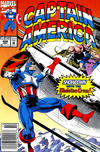 Cover for Captain America (Marvel, 1968 series) #409 [Newsstand Edition]