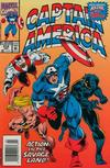 Cover for Captain America (Marvel, 1968 series) #414 [Newsstand]