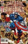 Cover for Captain America (Marvel, 1968 series) #437 [Direct Edition]