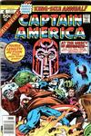 Cover for Captain America Annual (Marvel, 1971 series) #4