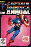 Cover for Captain America Annual (Marvel, 1971 series) #7 [Direct]