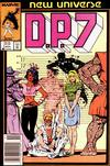 Cover for D.P. 7 (Marvel, 1986 series) #1 [Newsstand]