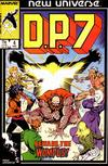 Cover for D.P. 7 (Marvel, 1986 series) #4 [Direct]