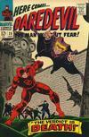 Cover for Daredevil (Marvel, 1964 series) #20 [Regular Edition]