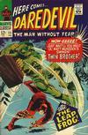 Cover for Daredevil (Marvel, 1964 series) #25 [Regular Edition]
