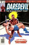Cover Thumbnail for Daredevil (1964 series) #164 [Newsstand Edition]
