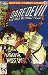 Cover Thumbnail for Daredevil (1964 series) #170 [British Price Variant]