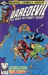 Cover for Daredevil (Marvel, 1964 series) #172 [Direct Edition]