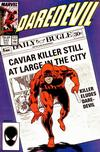 Cover for Daredevil (Marvel, 1964 series) #242 [Direct Edition]