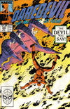 Cover for Daredevil (Marvel, 1964 series) #266 [Direct]