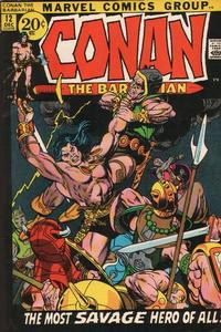 Cover Thumbnail for Conan the Barbarian (Marvel, 1970 series) #12 [Regular Edition]