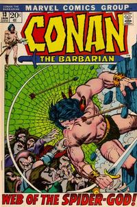 Cover Thumbnail for Conan the Barbarian (Marvel, 1970 series) #13 [Regular Edition]