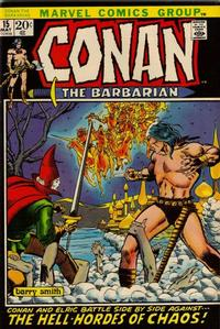 Cover Thumbnail for Conan the Barbarian (Marvel, 1970 series) #15 [Regular Edition]