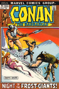 Cover Thumbnail for Conan the Barbarian (Marvel, 1970 series) #16 [Regular Edition]