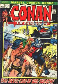 Cover Thumbnail for Conan the Barbarian (Marvel, 1970 series) #17 [Regular Edition]