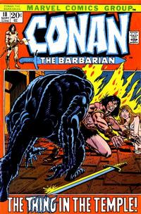 Cover Thumbnail for Conan the Barbarian (Marvel, 1970 series) #18 [Regular Edition]