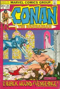 Cover Thumbnail for Conan the Barbarian (Marvel, 1970 series) #20 [Regular Edition]