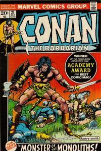 Cover Thumbnail for Conan the Barbarian (Marvel, 1970 series) #21 [Regular Edition]