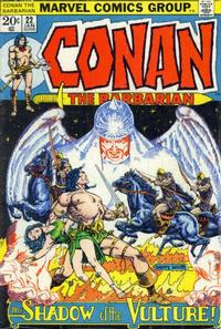 Cover Thumbnail for Conan the Barbarian (Marvel, 1970 series) #22 [Regular Edition]