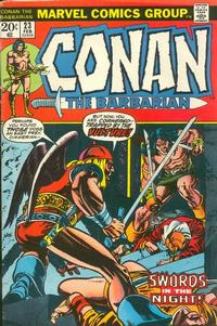 Cover Thumbnail for Conan the Barbarian (Marvel, 1970 series) #23 [Regular Edition]