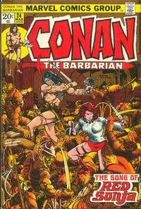 Cover for Conan the Barbarian (Marvel, 1970 series) #24 [Regular Edition]