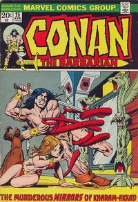 Cover Thumbnail for Conan the Barbarian (Marvel, 1970 series) #25 [Regular Edition]