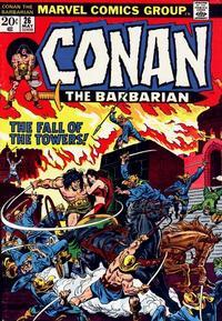 Cover Thumbnail for Conan the Barbarian (Marvel, 1970 series) #26 [Regular Edition]