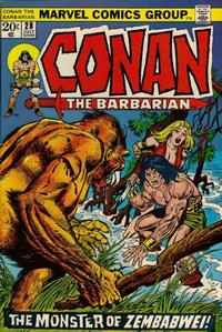 Cover Thumbnail for Conan the Barbarian (Marvel, 1970 series) #28 [Regular Edition]
