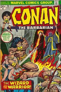 Cover Thumbnail for Conan the Barbarian (Marvel, 1970 series) #29 [Regular Edition]