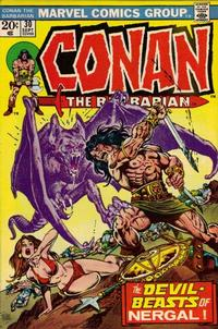 Cover Thumbnail for Conan the Barbarian (Marvel, 1970 series) #30 [Regular Edition]