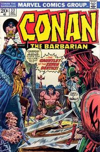 Cover Thumbnail for Conan the Barbarian (Marvel, 1970 series) #33 [Regular Edition]